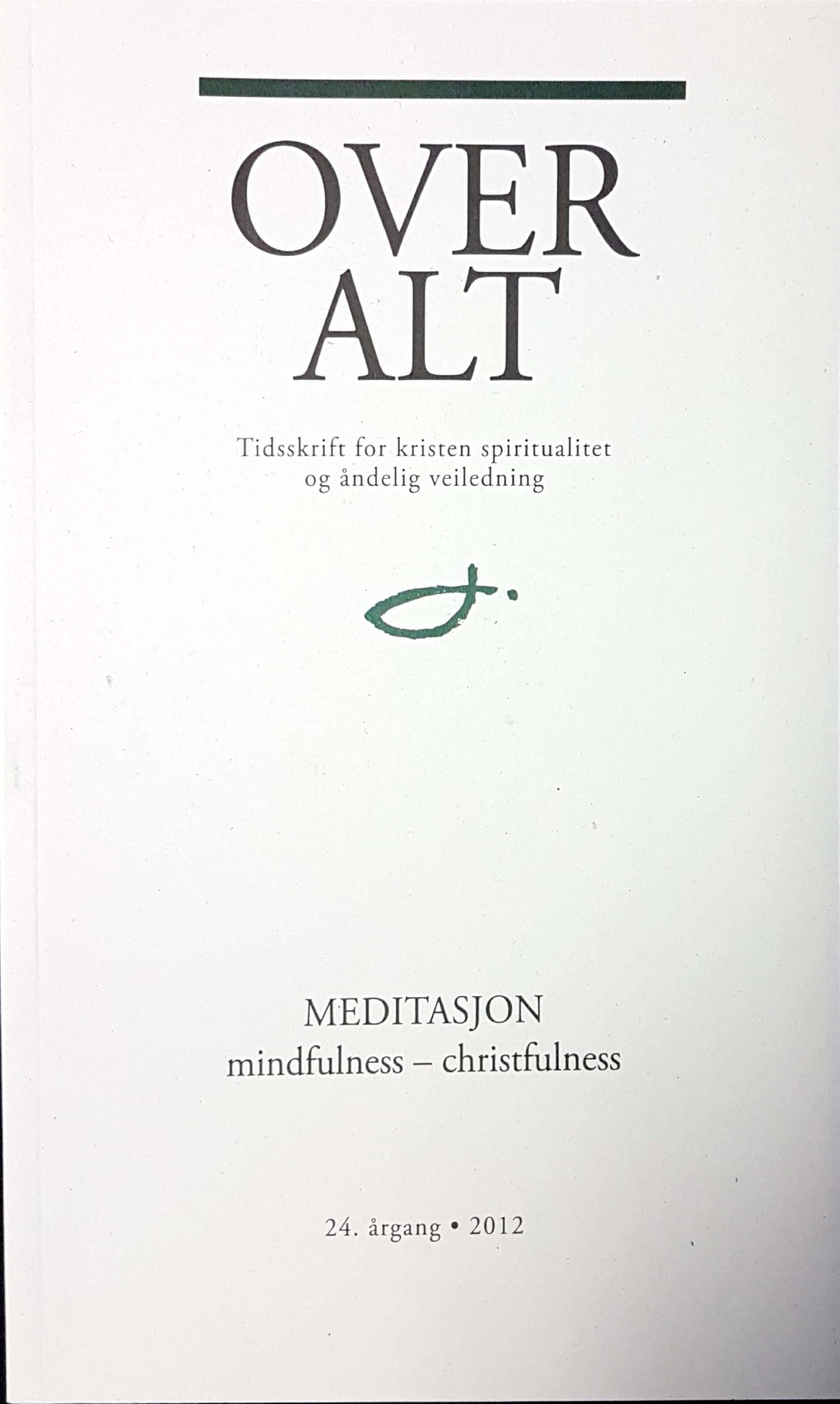 Omslag OverAlt tidskrift årgang 2012