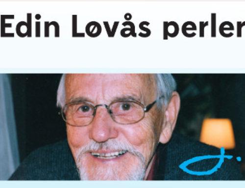 Bestill siste nummer av Over Alt med Edin Løvås
